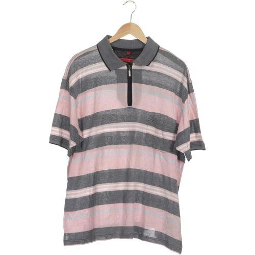 SIGNUM Herren Poloshirt pink kein Etikett INT XXL