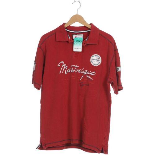 SIGNUM Herren Poloshirt rot kein Etikett INT XL