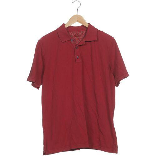 SIGNUM Herren Poloshirt rot Baumwolle INT L