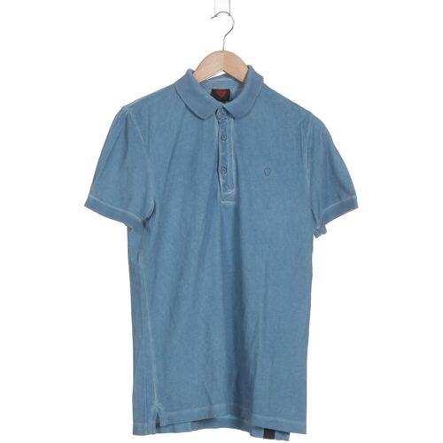 Strellson Herren Poloshirt blau kein Etikett INT S
