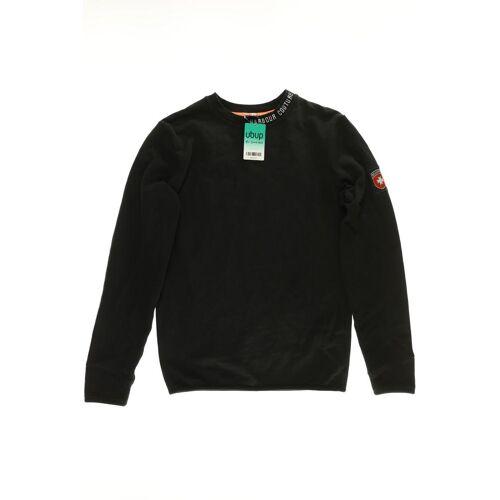 Wellensteyn Herren Sweatshirt schwarz Baumwolle INT S