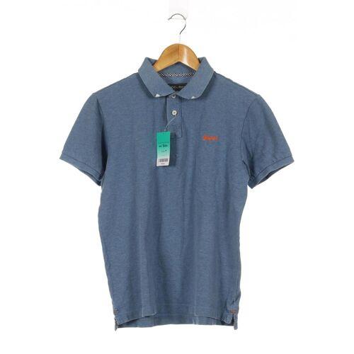 Woolrich Herren Poloshirt INT M blau