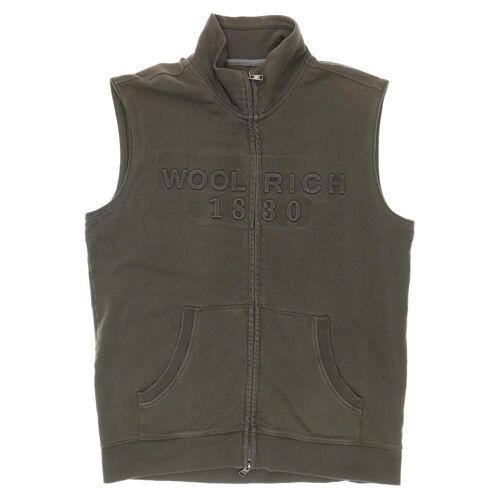Woolrich Herren Weste grün kein Etikett INT M