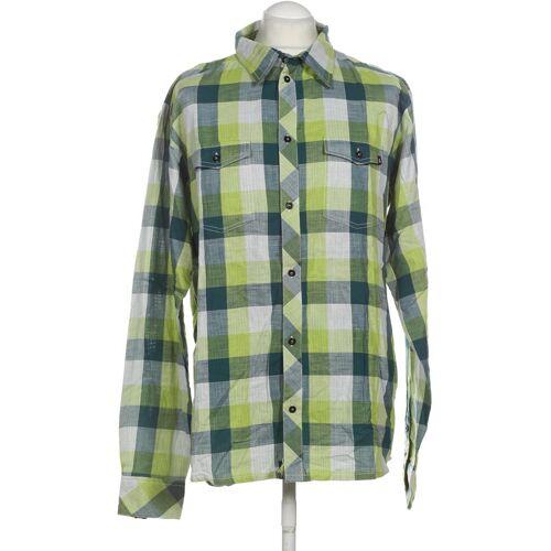 Zimtstern Herren Hemd grün Baumwolle INT XL