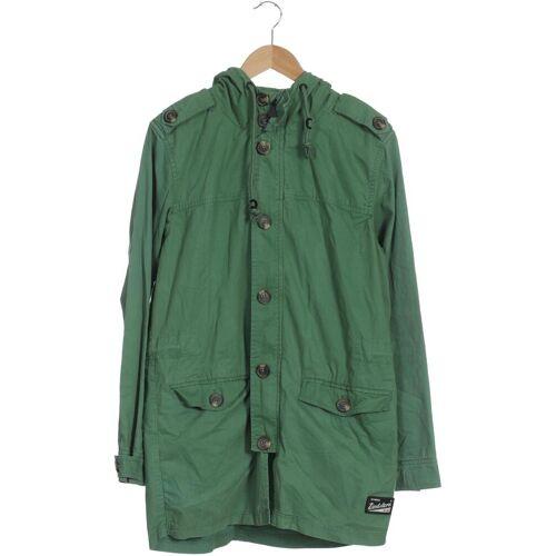 Zimtstern Herren Mantel grün Baumwolle INT M