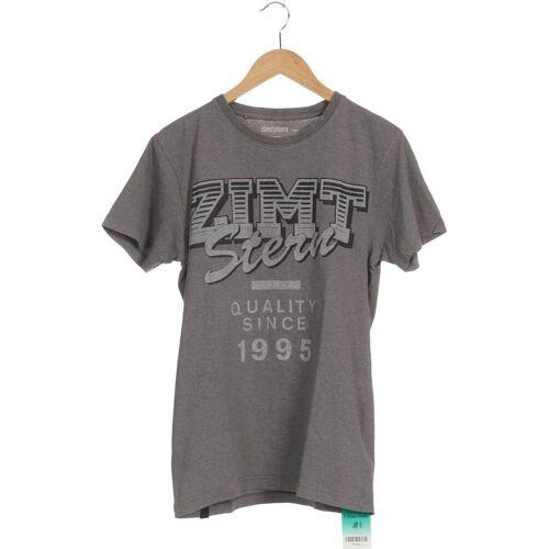 Zimtstern Herren T-Shirt grau kein Etikett INT S