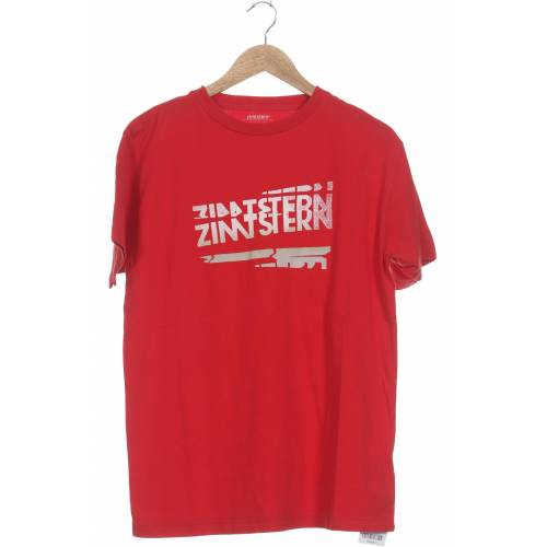 Zimtstern Herren T-Shirt rot Baumwolle INT M