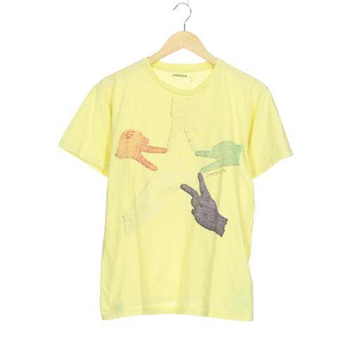 Zimtstern Herren T-Shirt gelb Baumwolle INT M
