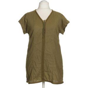 Marks & Spencer Damen Kleid grün Baumwolle Leinen Viskose EUR 40