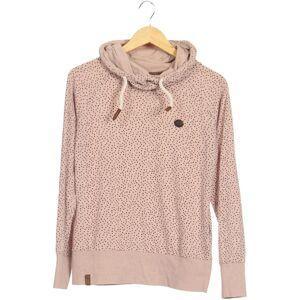 Naketano Damen Kapuzenpullover beige Baumwolle Synthetik INT L
