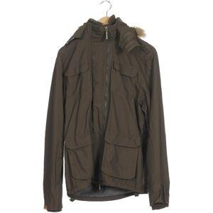 Superdry Damen Jacke grün Synthetik INT XL