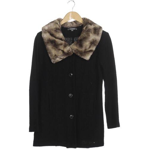 ADAGIO Damen Mantel schwarz Wolle DE 42