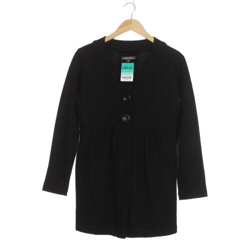 ADAGIO Damen Mantel schwarz Wolle DE 38