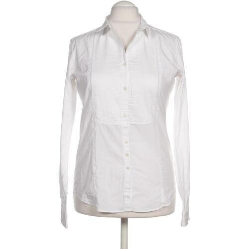 AGLINI Damen Bluse weiß kein Etikett IT 48