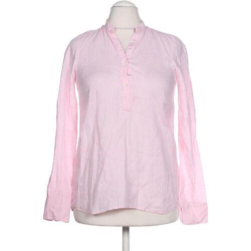 AGLINI Damen Bluse pink Leinen DE 40
