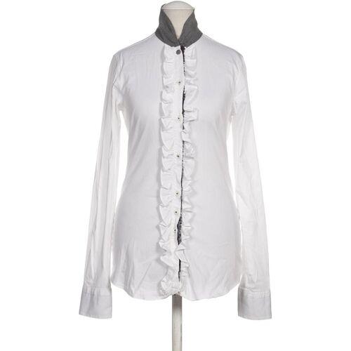 AGLINI Damen Bluse weiß kein Etikett INT S