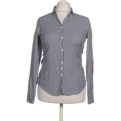 AGLINI Damen Bluse blau kein Etikett DE 44