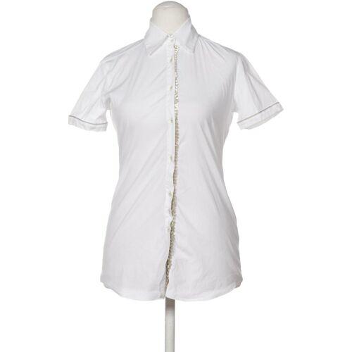 AGLINI Damen Bluse weiß kein Etikett US 4