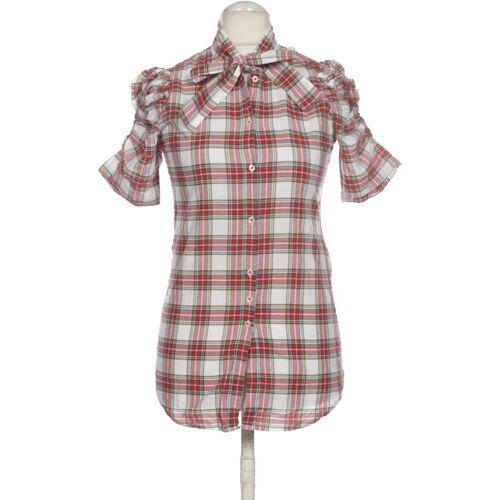 AGLINI Damen Bluse rot kein Etikett DE 42