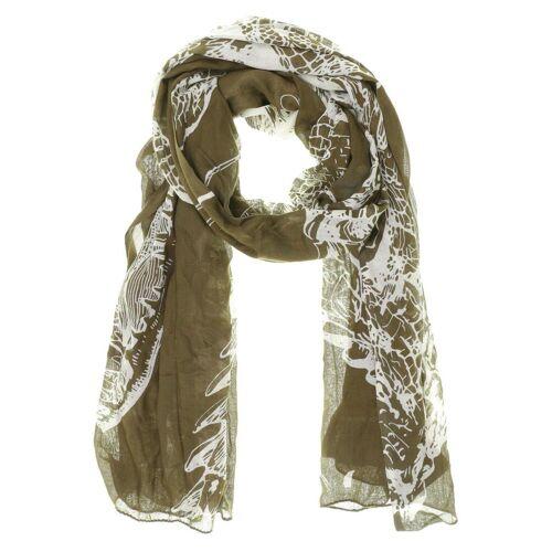 AMORPH Damen Schal grün kein Etikett