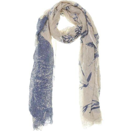 AMORPH Damen Schal blau Viskose