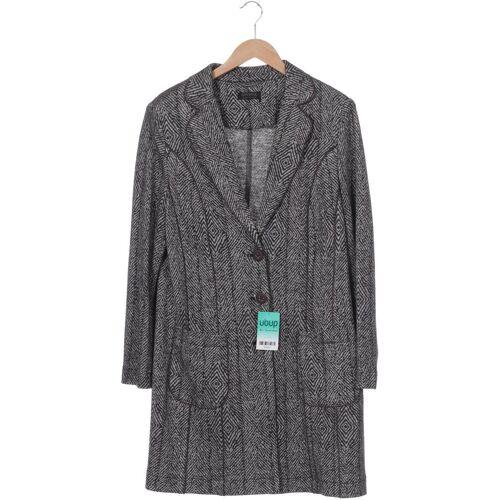 APANAGE Damen Mantel grau Wolle Viskose DE 44