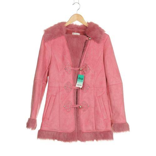 Apart Damen Mantel pink Synthetik DE 38