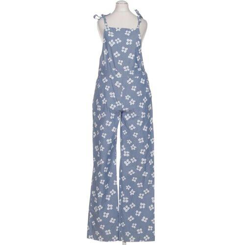 ARMEDANGELS Damen Jumpsuit/Overall blau Baumwolle INT M
