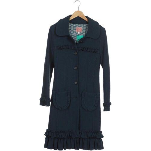 Avoca Damen Mantel blau Synthetik Wolle EUR 36