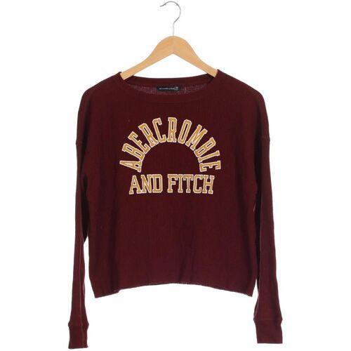 Abercrombie & Fitch Damen Sweatshirt rot kein Etikett INT XS