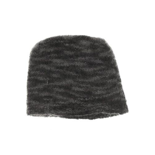 Acne Damen Hut/Mütze grau Mohair Synthetik Wolle INT ONESIZE
