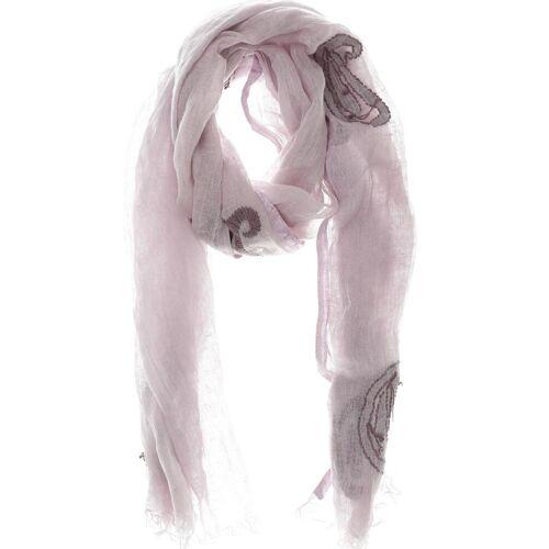 Altea Damen Schal lila Leinen