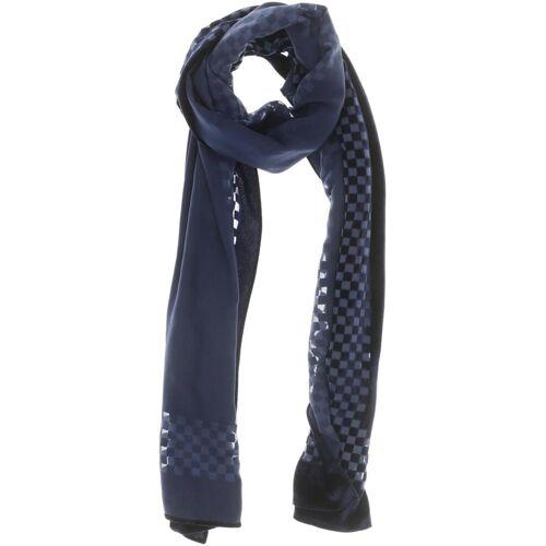 Giorgio Armani Emporio Armani Damen Schal blau Viskose