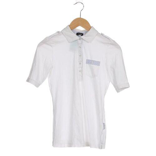 Giorgio Armani Jeans Damen Poloshirt weiß kein Etikett DE 40