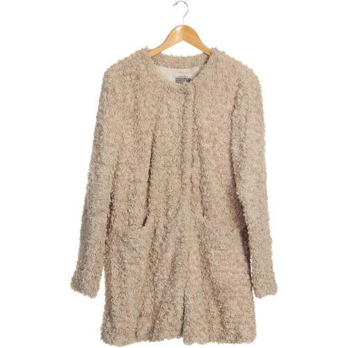 BLAUMAX Damen Mantel beige Synthetik INT L