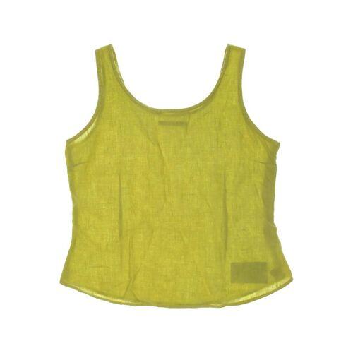 Backstage Damen Bluse gelb Leinen INT L
