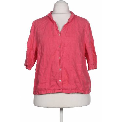 Backstage Damen Bluse pink Leinen INT XXL