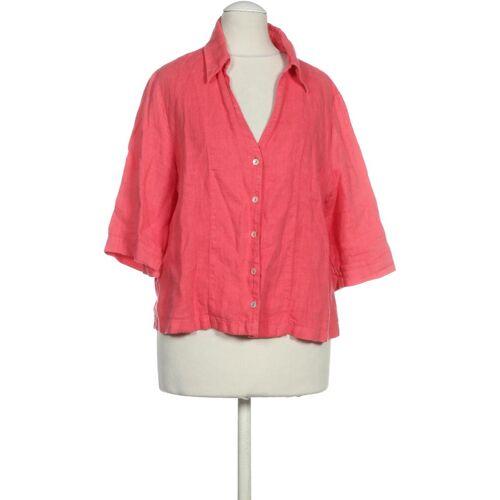 Backstage Damen Bluse pink Leinen INT S