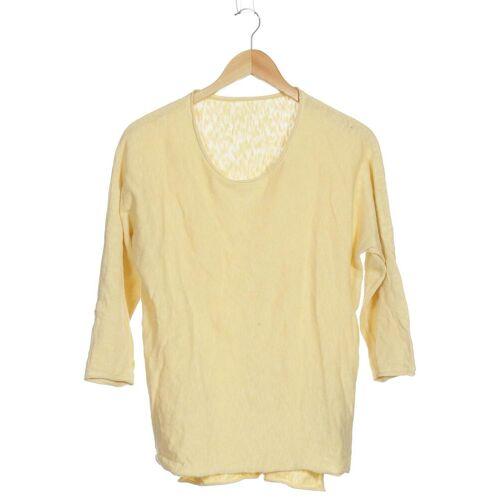 Backstage Damen Pullover gelb Baumwolle INT S
