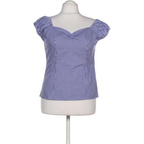Banned Damen Bluse blau Baumwolle INT L