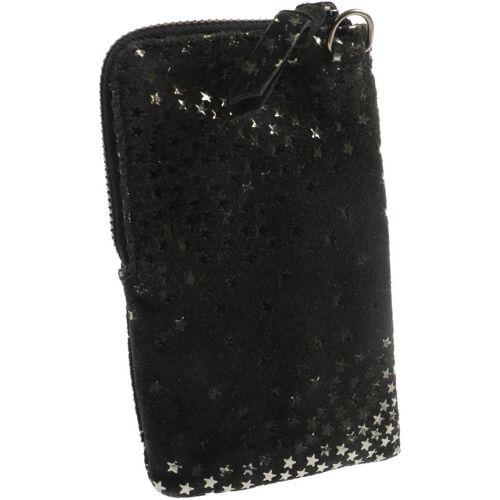 Becksöndergaard Damen Portemonnaie schwarz Leder