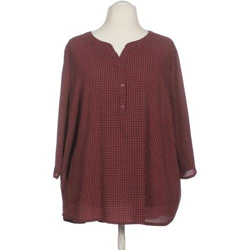 Bexleys Damen Bluse rot kein Etikett INT 5XL