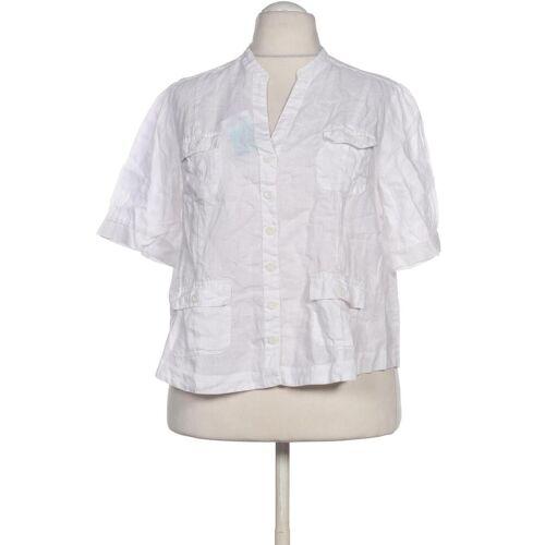 Bexleys Damen Bluse weiß Leinen DE 48