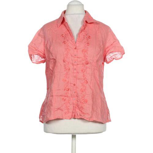 Bexleys Damen Bluse pink Leinen DE 42