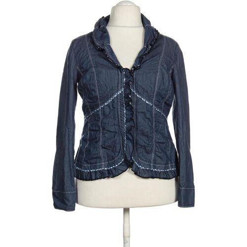 BiBA Damen Jacke blau kein Etikett DE 44