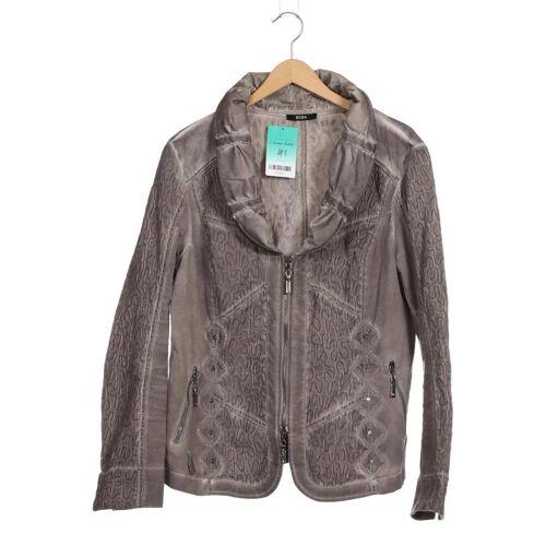 BiBA Damen Jacke grau kein Etikett INT XL