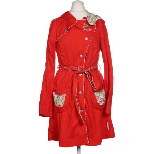 Blutsgeschwister Damen Mantel rot Baumwolle INT S