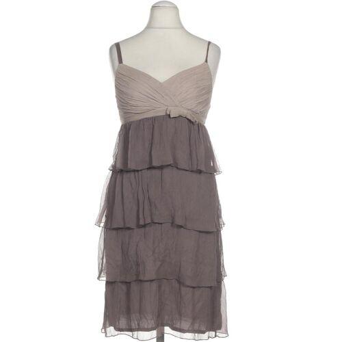 CONLEYS Damen Kleid grau Seide DE 36