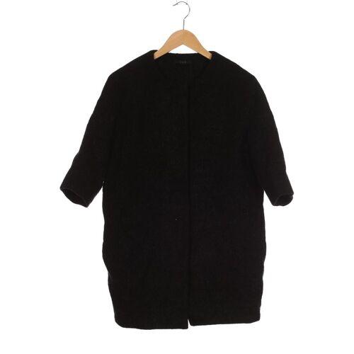 COS Damen Mantel schwarz Mohair Wolle Viskose US 4