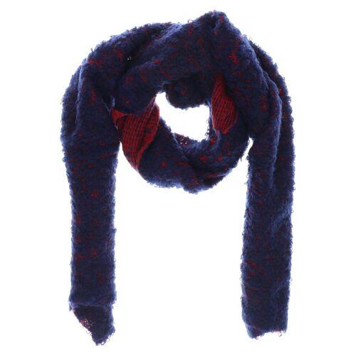 COS Damen Schal blau Mohair Synthetik Wolle